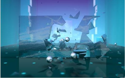 砸玻璃:Smash Hit