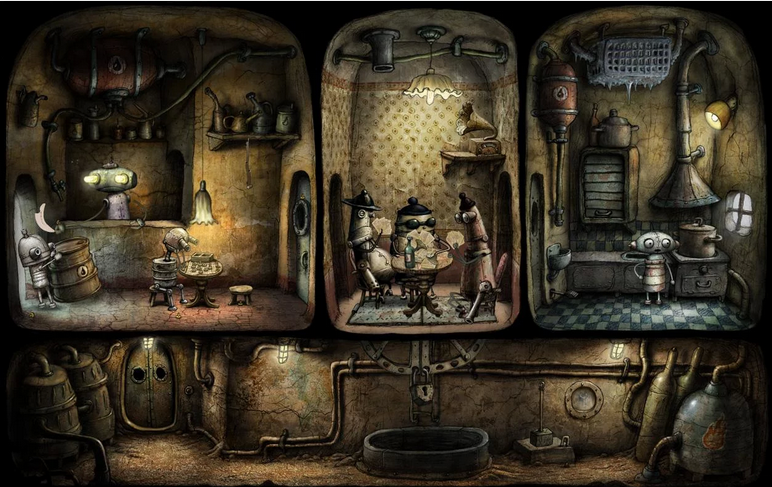 机械迷城:Machinarium