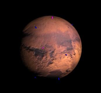 WebGL Mars