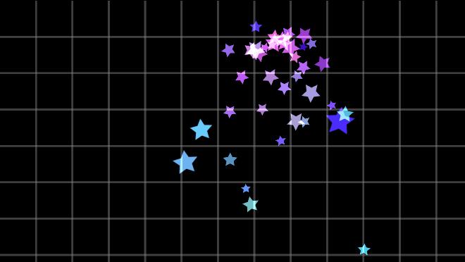 测试向下的彩色粒子02