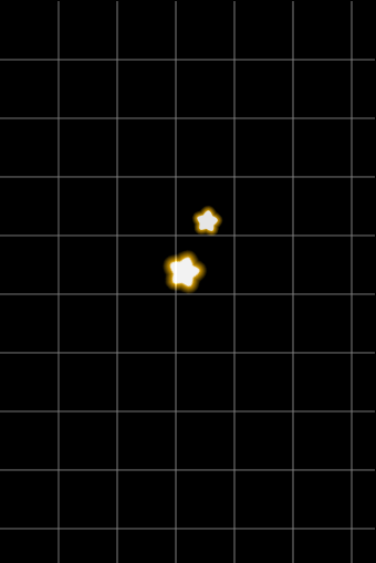 游戏胜利弹出层-背后星星