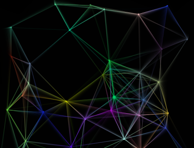 Trapped particles with gradient connections