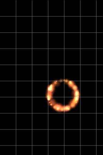 转圈圈的火焰特效