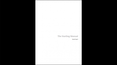 The Starling Manual