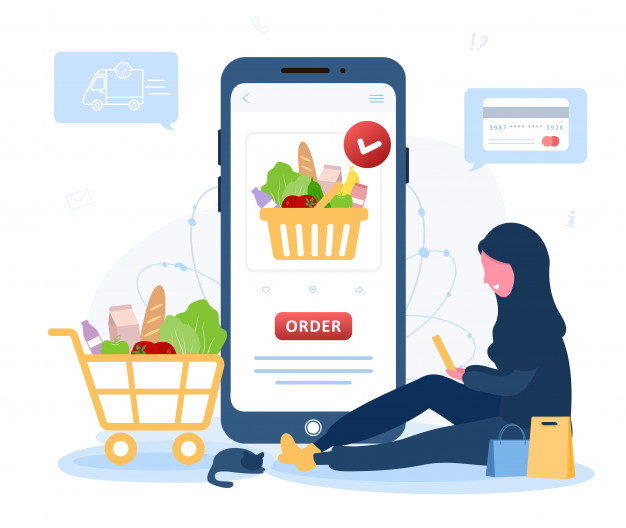 Why should you go for a customized online grocery delivery service app like Instacart?