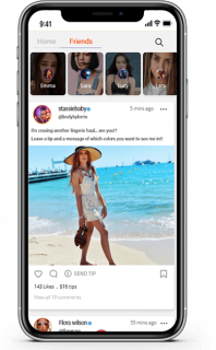 Get a feature-rich OnlyFans clone app for your premium social media subscription platform business