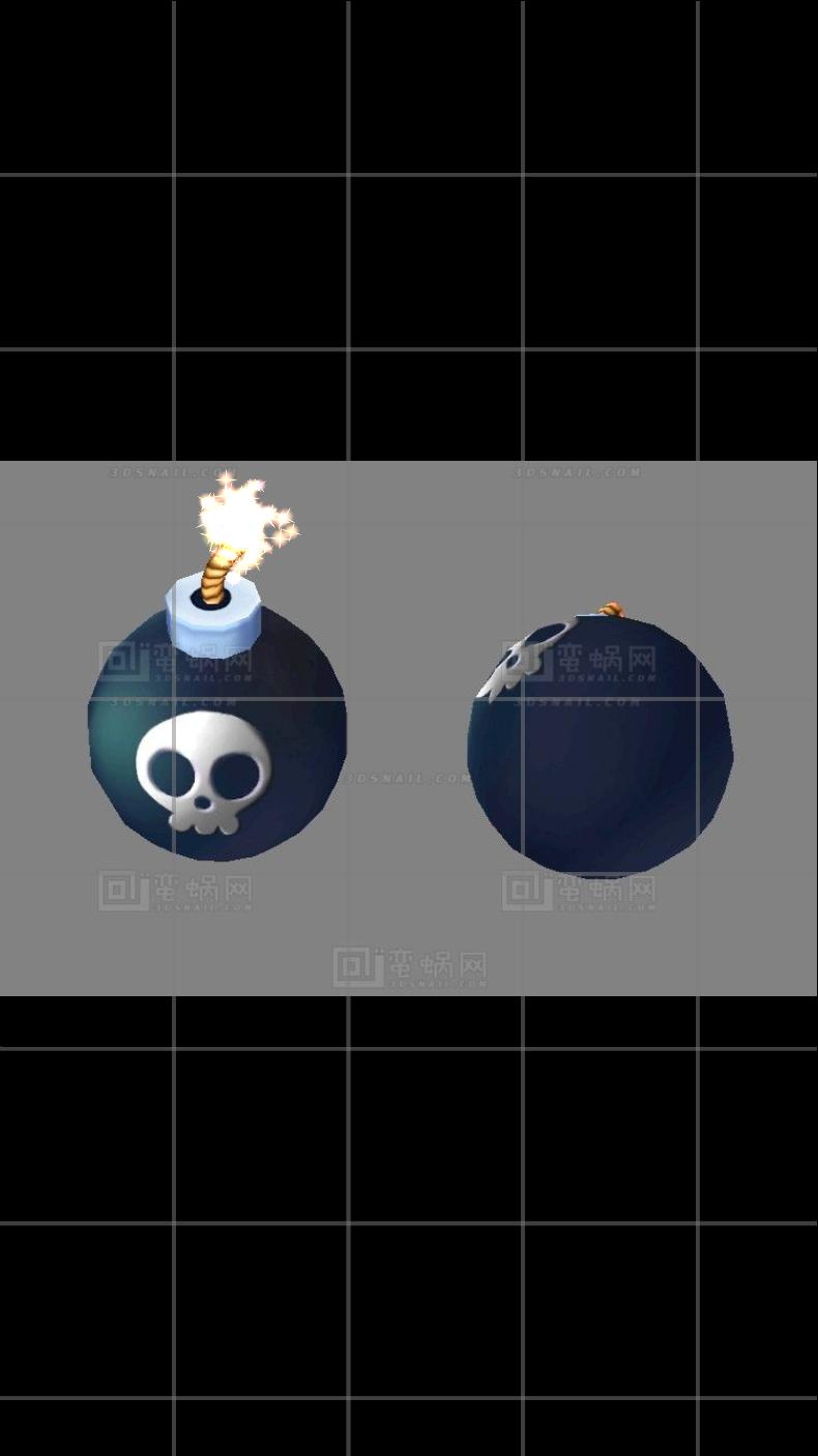 炸弹火花_texture