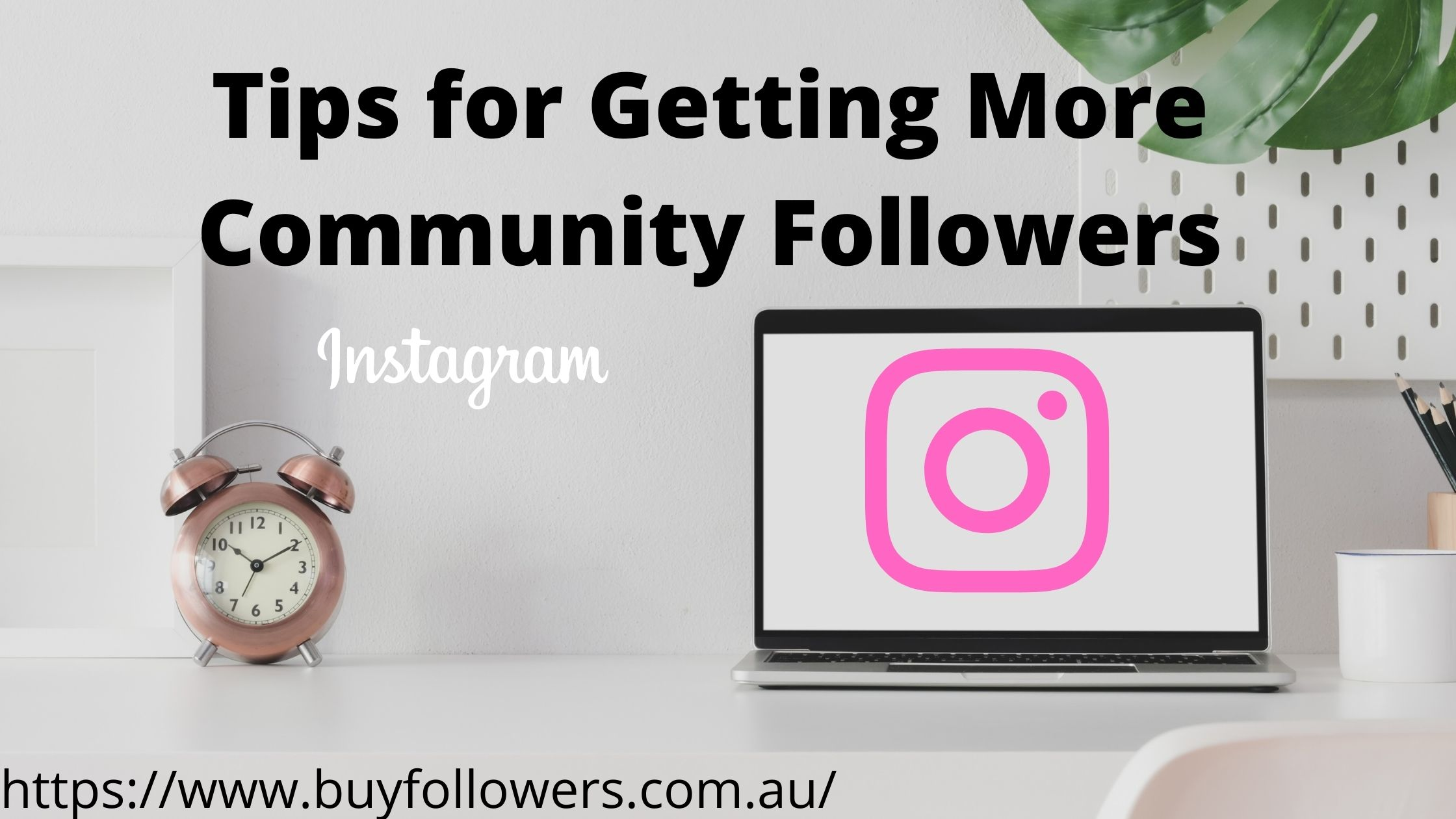 Tips for Getting More Community Followers