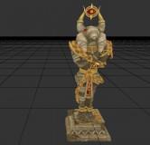 telnumara surveillant statue