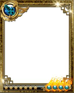 卡牌原画边框